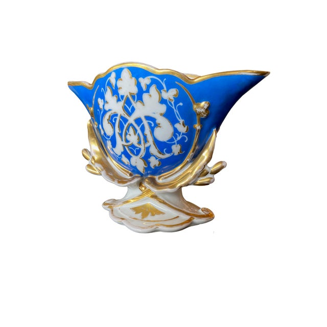 French 19th Century Old Paris Porcelain Vase For Sale - Image 3 of 7