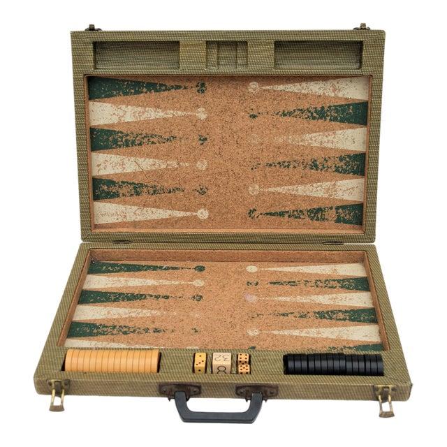 Vintage Backgammon Set For Sale