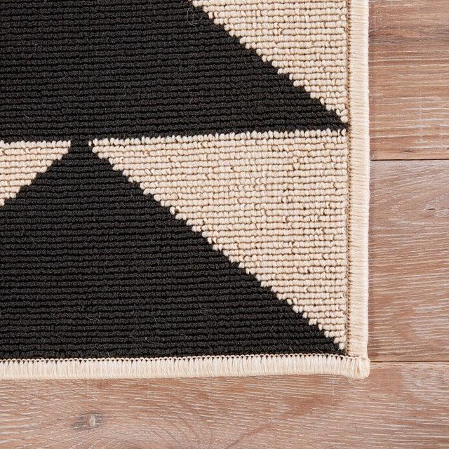 McKenzie Indoor Outdoor Geometric Black
