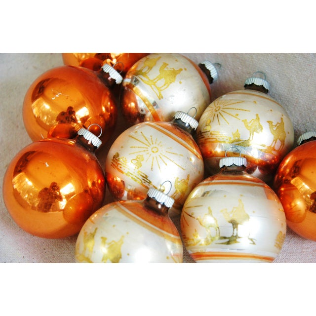 1950s Christmas Ornaments With Box - Set of 9 - Image 6 of 8