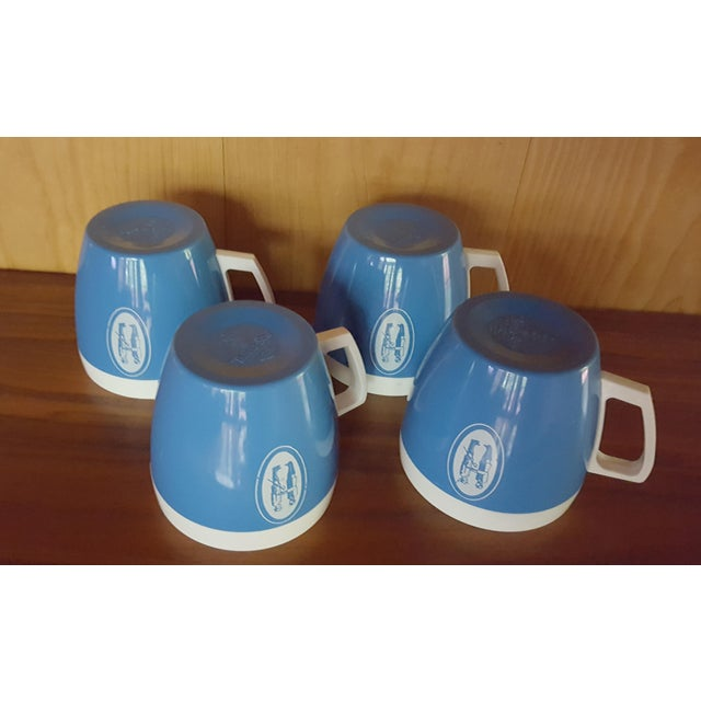 Vintage Coffee Cups - Set of 4 - Image 5 of 6