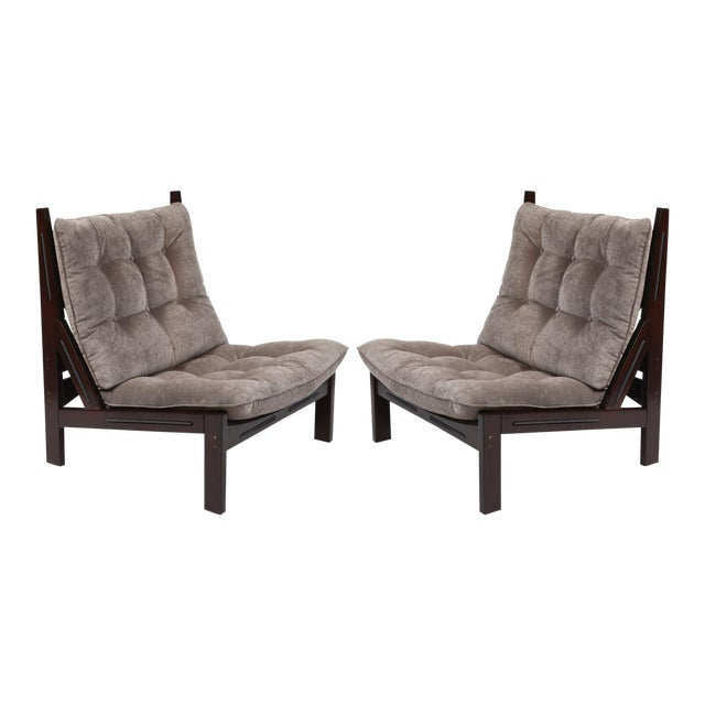 Illum Wikkelso Scale Lounge Chairs - A Pair - Image 1 of 6