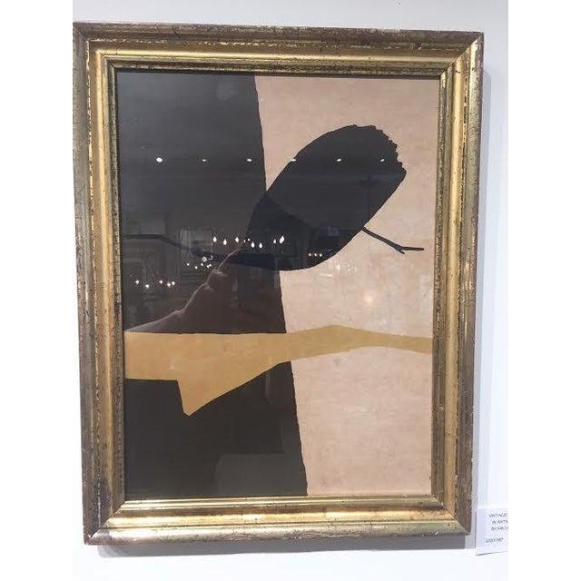 "Vintage Art 'Israel"" in Antique Frame by Michael Gross For Sale In Nashville - Image 6 of 6"