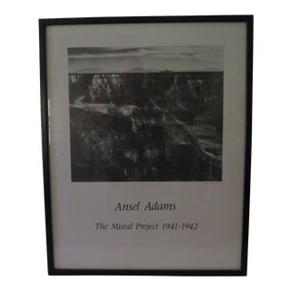Vintage used gray posters chairish for Ansel adams mural project