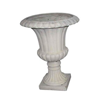 French Style Fluted Garden Urn