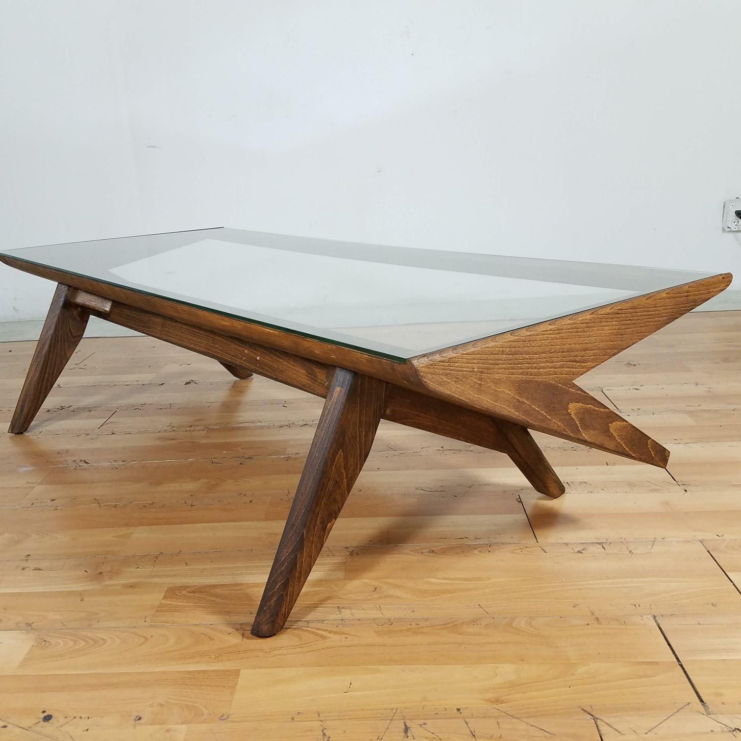 Merveilleux Nice Brown Saltman Furniture History #7   Brown U0026 Saltman Mid Century Z  Coffee Table   Image 5 Of 10