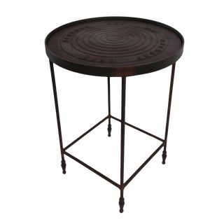 Industrial Iron Manhole Table For Sale