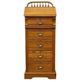 Dixie Recollections Collection Country French Oak Lingerie Chest 468-310 For Sale