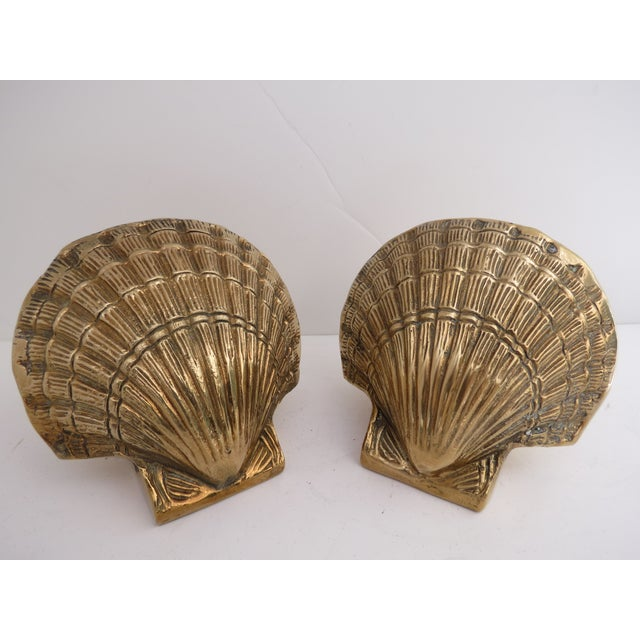 Brass Shell Bookends - Image 7 of 7