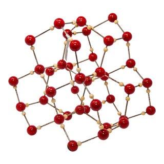 Vintage Scientific Molecular Atomic Model of Water For Sale
