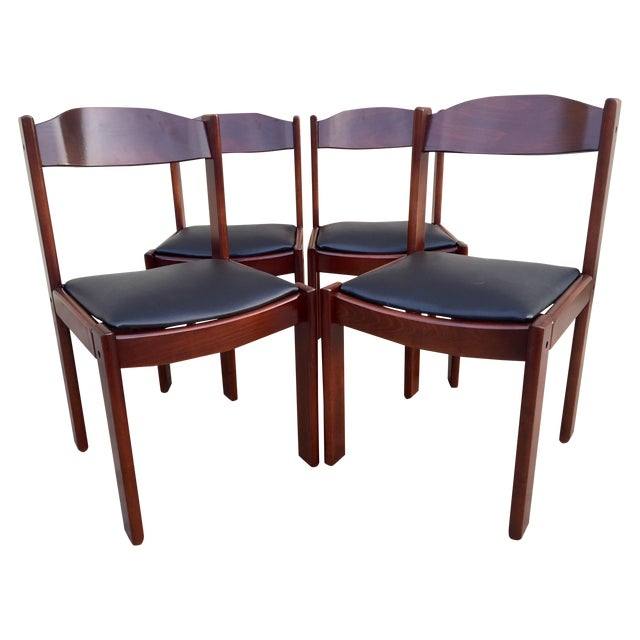 Restored Mid-Century Modern Dining Chairs - 4 - Image 1 of 8