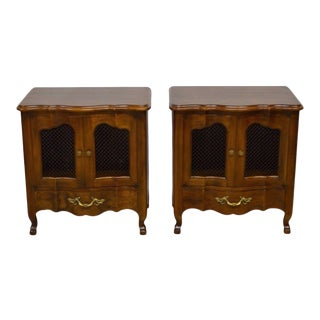 John Widdicomb French Style Nightstands - A Pair For Sale
