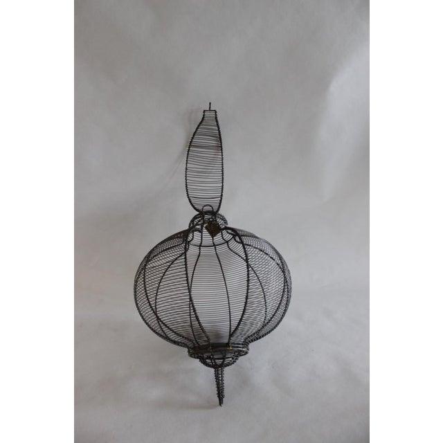 West Elm Circular Hanging Lantern - Image 5 of 8