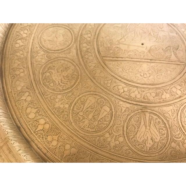 Brass Zodiac Brass Plate For Sale - Image 7 of 7