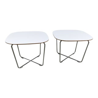 Bernhardt Modern Side Tables - a Pair For Sale
