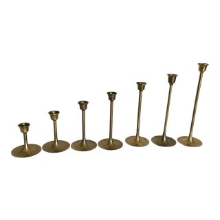 Mid-Century Candlesticks - Set of 7