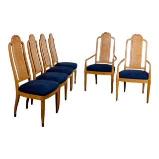 Henredon Scene Two Dining Chairs - Set of 6 For Sale