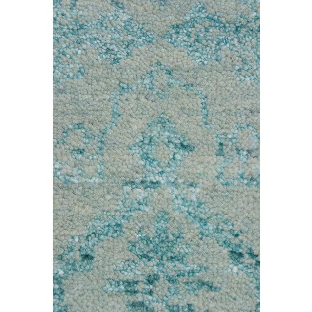 "New Ikat Hand Knotted Area Rug - 9'1"" x 12'4"" - Image 3 of 3"