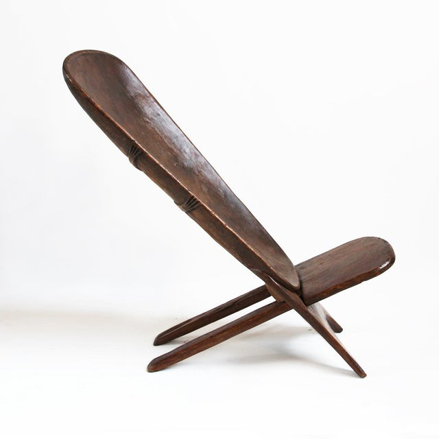Hand Carved Palaver Chair Chairish