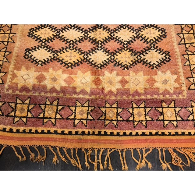 Bellwether Rugs Vintage Moroccan Area Rug - 4′4″ × 10′7″ - Image 3 of 8