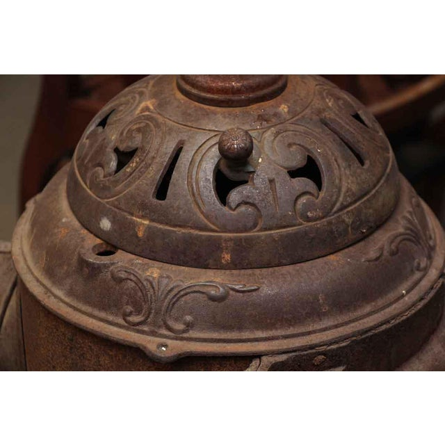 Antique Oak Bengal Stove For Sale - Image 11 of 13