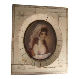 Antique Miniature Portrait For Sale