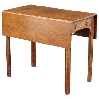 19th Century George III Style Mahogany Pembroke Table For Sale