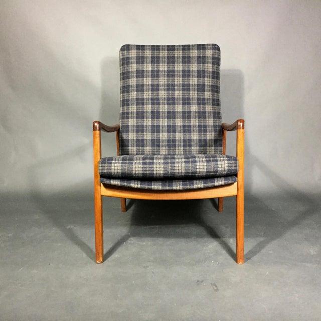 Mid-Century Modern Ole Wanscher Teak Armchair, France & Søn, Denmark 1950s For Sale - Image 3 of 11