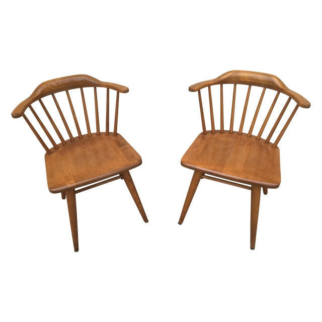 Russel Wright Conant Ball Chairs - A Pair - Image 1 of 4