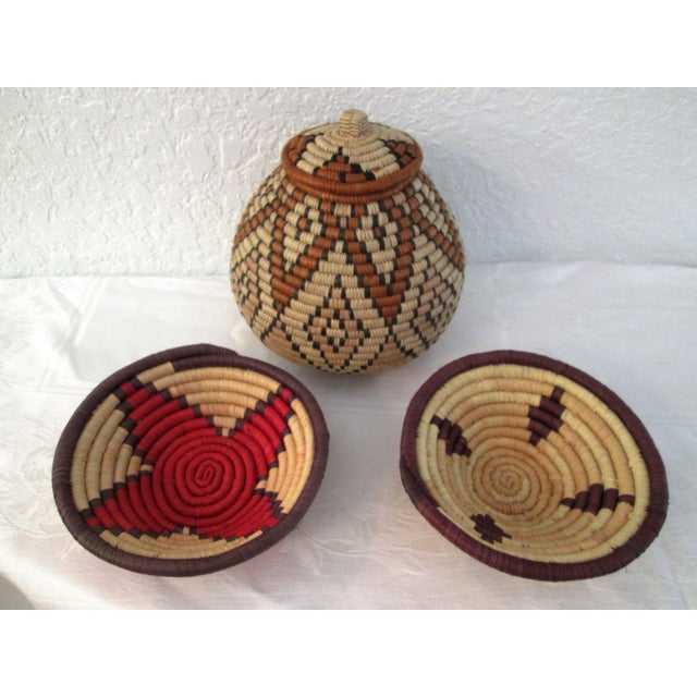 South African Baskets - Set of 3 - Image 2 of 8
