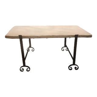 Custom Limestone Coffee Table