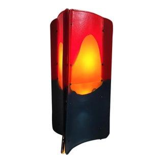 Gaetano Pesce Triangle Lamp For Sale