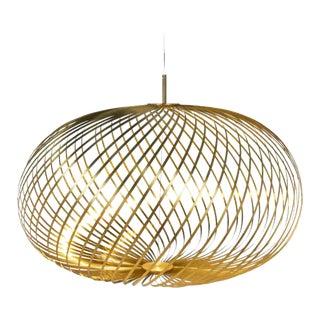 Tom Dixon Spring Pendant in Brass For Sale