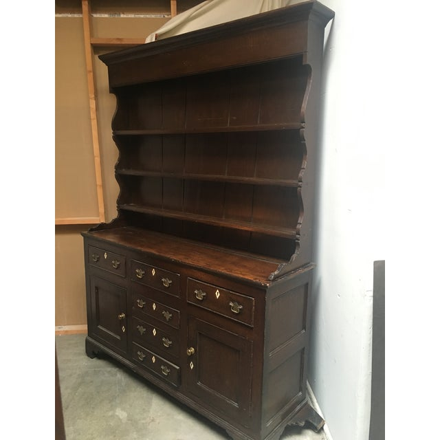 Circa 1780's Welsh Anglesey Cabinet For Sale - Image 5 of 8