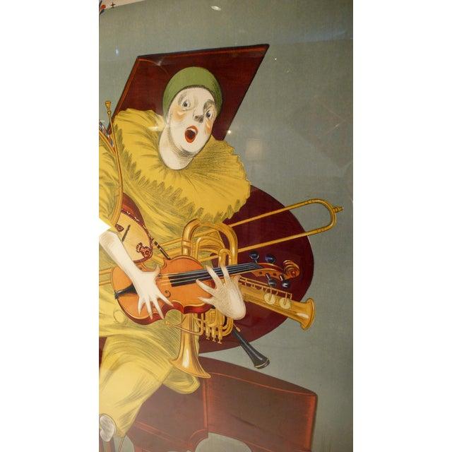 Contemporary Betto Lotti Clown Poster c. 1925 For Sale - Image 3 of 6