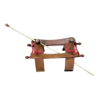 Saudi Arabian Camel Saddle With Camel Whip For Sale
