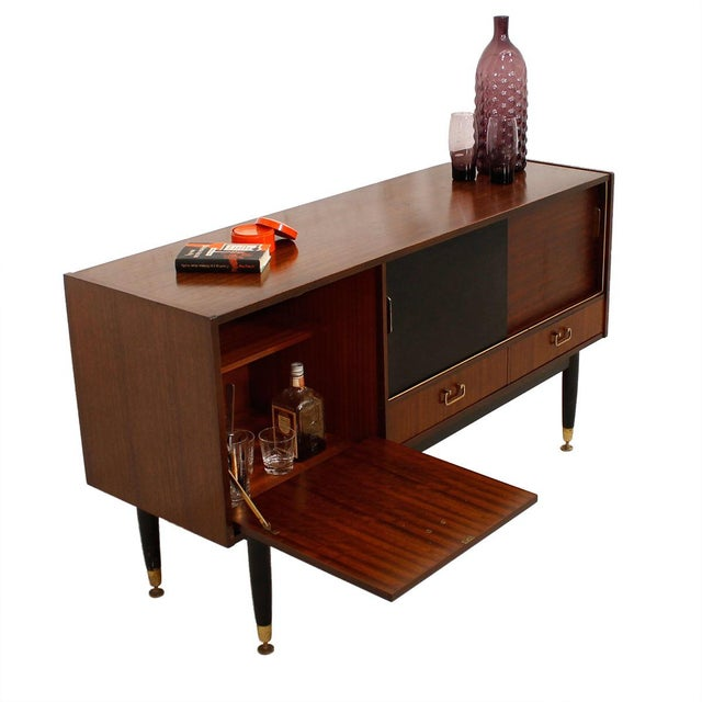 G-Plan E Gomme Ltd. English Modern Sideboard Bar Cabinet - Image 9 of 9
