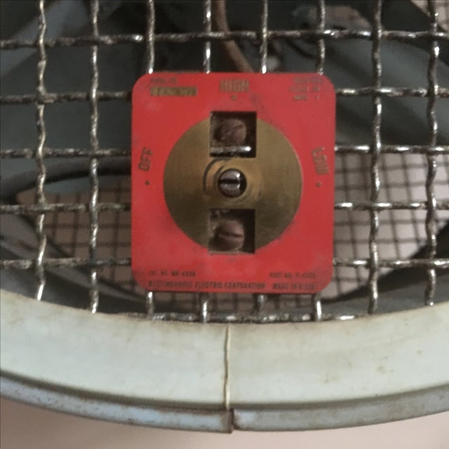 Westinghouse Mobilaire Industrial Fan For Sale - Image 11 of 11