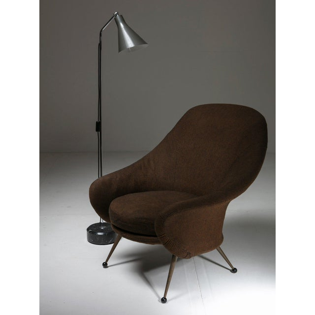 "1950s ""Martingala"" Lounge Chair by Marco Zanuso for Arflex For Sale - Image 5 of 6"