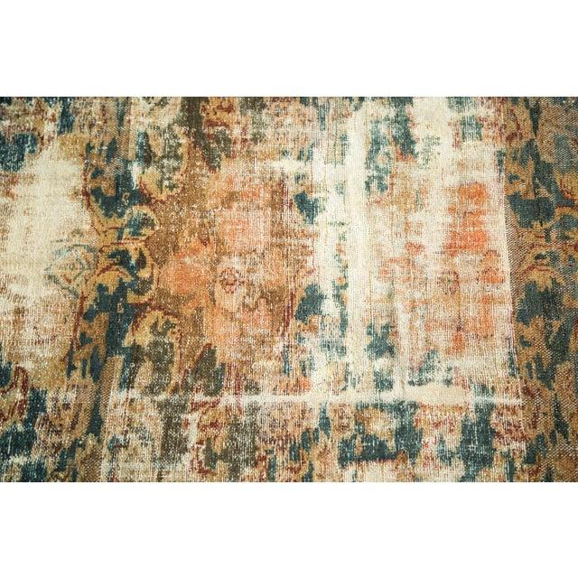 "Distressed Hamadan Carpet - 5'3"" x 7'11"" - Image 9 of 10"