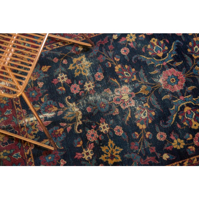 "1920s Vintage Yezd Rug - 2'11"" X 4'10"" For Sale - Image 5 of 11"