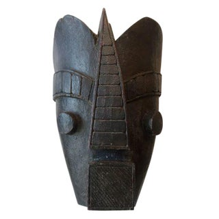 1920s African Wooden Tribal Mask For Sale