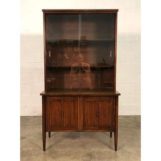 Pulsaki Mid-Century Danish Modern China Cabinet / Display Case Preview