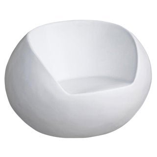 1960s Retro Fiberglass Orb Egg Chair For Sale