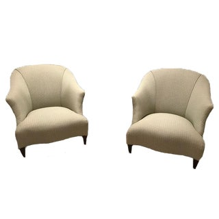 Donghia Shell Chairs - A Pair For Sale