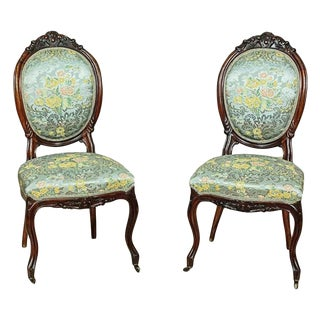 Louis Philippe Mahogany Chairs, circa 1860 For Sale