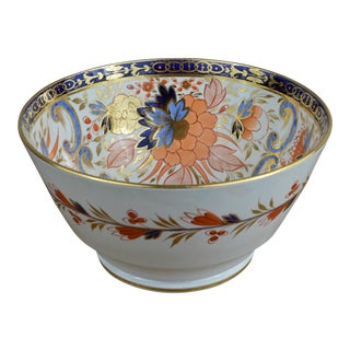 Early 19th Century English Chinoiserie Porcelain Bowl For Sale