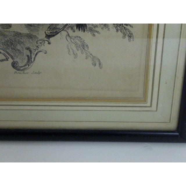 """""""La Coquette"""" by Apres Antoine Watteau Boucher - Image 5 of 7"""