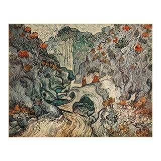 "1947 Vincent Van Gogh ""The Ravin"", First Edition Parisian Lithograph For Sale"