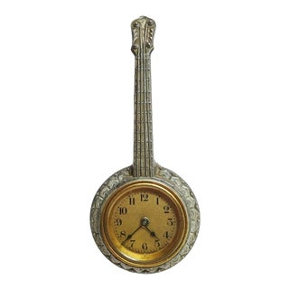 1920's Banjo Winding Clock For Sale